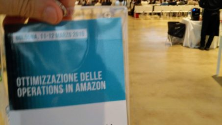 Logistica di Amazon. Opificio Golinelli. 11/3/19