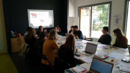 Incontro stakeholder group Regionarts. 23/5/19